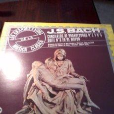 Discos de vinilo: DISCO DE VINILO. J. S. BACH. CONCIERTOS DE BRANDEBURGO Nº 2 Y Nº 3. C3V. Lote 53146694