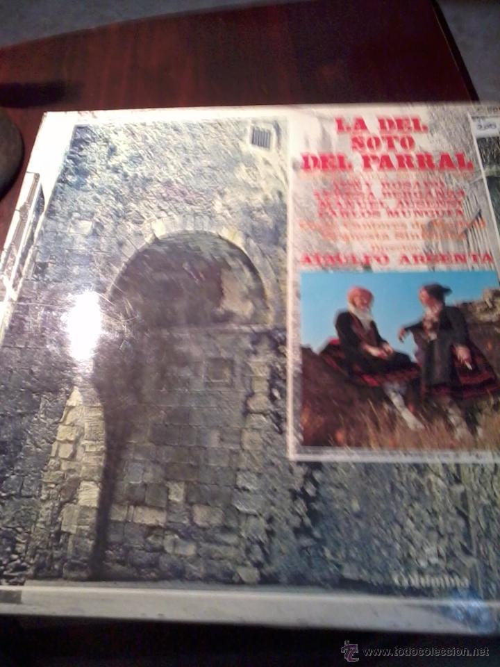 DISCO DE VINILO. LA DEL SOTO DEL PARRAL. DIRECTO ATAULFO ARGENTA. ZARZUELA. C5V (Música - Discos - LP Vinilo - Clásica, Ópera, Zarzuela y Marchas)