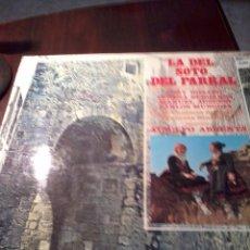 Discos de vinilo: DISCO DE VINILO. LA DEL SOTO DEL PARRAL. DIRECTO ATAULFO ARGENTA. ZARZUELA. C5V. Lote 53146734