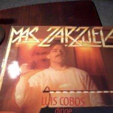 Discos de vinilo: DISCO DE VINILO. MAS ZARZUELA. LUIS COBOS DIRIGE THE ROYAL PHILHARMONIC ORCHESTRA C3V. Lote 53147183