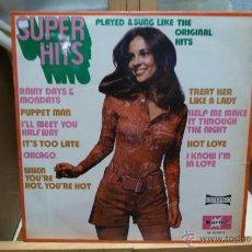 Discos de vinilo: SUPER HITS-LP. Lote 53147397