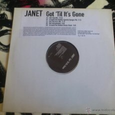 Discos de vinilo: JANET JACKSON - GOT ´TIL IT´S GONE - DOBLE MAXI - PROMO - VINILO - VIRGIN - BLACK DOLL - 1997. Lote 53149729