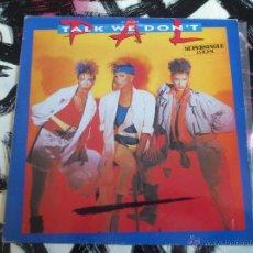 Discos de vinilo: PAL - TALK WE DON´T - MAXI - VINILO - MOTOWN - 1986. Lote 53150103