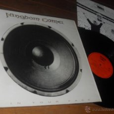 Discos de vinilo: KINGDOM COME LP. IN YOUR FACE. MADE IN GERMANY. 1989.. Lote 53150292