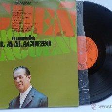 Discos de vinilo: MANOLO EL MALAGUEÑO. LP 1971. Lote 53151106