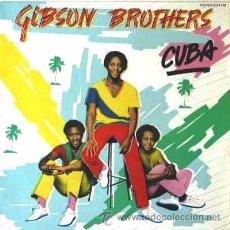 Discos de vinilo: GIBSON BROTHERS: CUBA. LP EN VINILO.. Lote 53153044