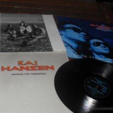 Discos de vinilo: GAMMA RAY. KAI HANSEN LP. HEADING FOR TOMORROW. MADE IN UK. 1990.. Lote 53153133