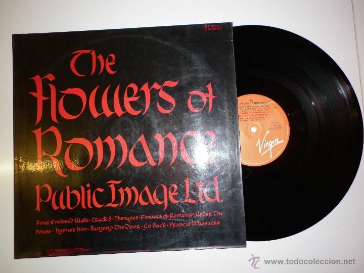 Discos de vinilo: PIL- PUBLIC IMAGE LIMITED - THE FLOWERS OF ROMANCE 1981 - Foto 2 - 53157255