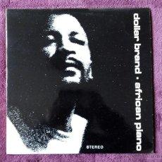 Discos de vinilo: DOLLAR BRAND, AFRICAN PIANO (JAPO EDIGSA) LP ESPAÑA. Lote 53160233