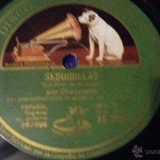 Discos de vinilo: DISCO DE PIZARRA CHACONSITO. Lote 53161885