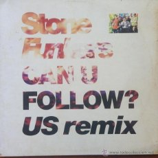 Discos de vinilo: STONEFUNKERS - CAN U FOLLOW? (US REMIX) . MAXI SINGLE . 1991 GERMANY. Lote 53163964