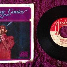 Discos de vinilo: ARTHUR CONLEY FUNKY STREET HA! HA! HA! VINILO 45 RPM. Lote 54363491