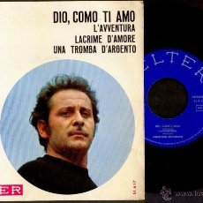 Discos de vinilo: DOMENICO MODUGNO 1966 VINILO 45 RPM. Lote 53165188