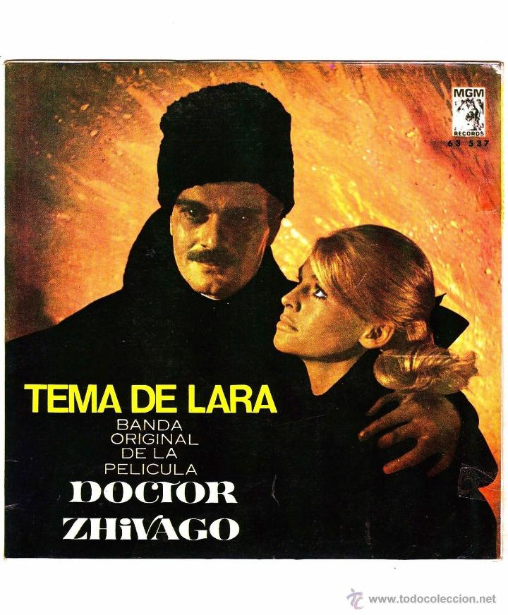 TEMA DE LARA DOCTOR ZHIVAGO 1966 VINILO 45 RPM (Música - Discos - Singles Vinilo - Pop - Rock Extranjero de los 50 y 60)