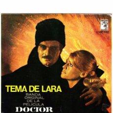TEMA DE LARA DOCTOR ZHIVAGO 1966 VINILO 45 RPM