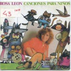 Dischi in vinile: ROSA LEON / A MI BURRO / EL GATO GRANDE + 2 (EP 1987). Lote 53166297