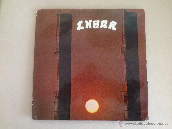 ENBOR - LP XOXOA 1979 - POKORA 3 STARS - EDICION ORIGINAL GATEFOLD. PROG PSYCH (Música - Discos - LP Vinilo - Grupos Españoles de los 70 y 80)