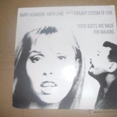 Discos de vinilo: BARRY ADAMSON, ANITA LANE AND THE THOUGHT SYSTEM OF LOVE (MAXI) THESE BOOTS ARE MADE FOR WALKING U.K. Lote 53168398