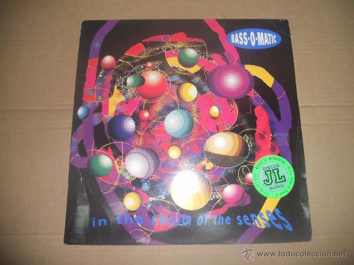 BASS-O-MATIC (MAXI) IN THE REALM OF THE SENSES +2 TRACKS AÑO 1990 - EDICION U.K. segunda mano