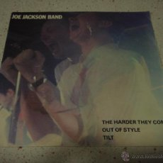 Discos de vinilo: JOE JACKSON BAND ( THE HARDER THEY COME - OUT OF STYLE - TILT ) 1980-HOLANDA EP45 A&M RECORDS. Lote 53169126