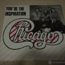 Disques de vinyle: CHICAGO ( YOU'RE THE INSPIRATION - ONCE IN A LIFETIME ) 1984-GERMANY SINGLE45 CHICAGO. Lote 53169189