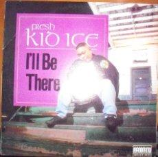 Discos de vinilo: MAXI-SINGLE DE FRESH KID ICE, I'LL BE THERE. EDICION LUKE RECORDS DE 1992 (USA). Lote 53171044