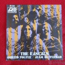 Discos de vinilo: THE RASCALS - QUIERO VOLVER / ALGO DE VERDAD // SINGLE // 1969 // A ESTRENAR. Lote 53173663