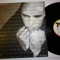 Discos de vinilo: THE CHRISTIANS - WORDS- 1989 MAXI SINGLE. Lote 53174587