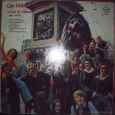Discos de vinilo: LP DE UP WITH PEOLPE, VIVA LA GENTE EN VIVO. EDICION UP WITH PEOPLE DE 1974 (HOLANDA) RARA. Lote 53184155