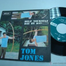 Discos de vinilo: VINILO TOM JONES HELP YOURSELF DAY BY DAY. Lote 53186464