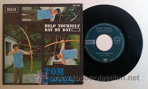 Discos de vinilo: VINILO TOM JONES HELP YOURSELF DAY BY DAY - Foto 2 - 53186464
