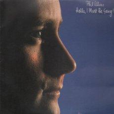 Discos de vinilo: HELLO I MUST BE GOING PHIL COLLINS LP. Lote 53186889