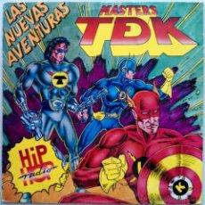 Discos de vinilo: MASTERS T DE K, LAS NUEVAS AVENTURAS - HIP HOP RADIO - LP VINILO AÑO 1989. Lote 53189717