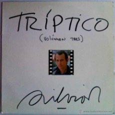 Discos de vinilo: SILVIO RODRÍGUEZ, TRÍPTICO VOL.3 - LP EDICIÓN ESPAÑA. Lote 53189750
