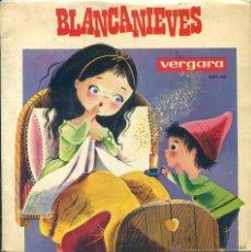 Discos de vinilo: BLANCA NIEVES (NARRADOR JOSE Mª CAMPOS) EP 1965 CON LIBRETO. Lote 53193563