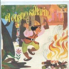 Discos de vinilo: EL ENANO SALTARIN (CUADRO DE ACTORES DE RADIO MADRID) SINGLE 1964. Lote 53193919