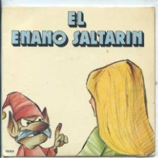 Discos de vinilo: EL ENANO SALTARIN (COLECION YUPY) SINGLE 1971. Lote 53193930