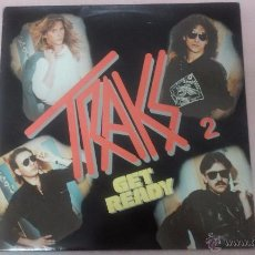 Discos de vinilo: TRAKS 2 GET READY LP 1983. Lote 53197393