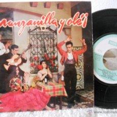 Discos de vinilo: PILAR VARGAS QUINITO DE SEVILLA-EP MANZANILLA Y OLE- 4 TEMAS 1962. Lote 53200756