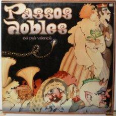 Discos de vinilo: PASSOS DOBLES DEL PAIS VALENCIA. Lote 53206274