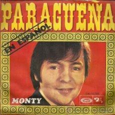 Discos de vinilo: MONTY EN ESPAÑOL SINGLE SELLO MOVIEPLAY AÑO 1970 EDITADO EN ESPAÑA. Lote 53208493