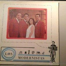 Discos de vinilo: LOS MODERNISTAS. ORQUESTA DE JAZZ F. MULENS / R. SOMAVILLA.1ª ED.LP EGREM LD-3184. BEAT CUBANO. RARO. Lote 53209108