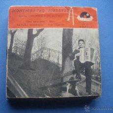 Discos de vinilo: MONTMARTRE MUSETTE QUE SERA +JAVA + LA POLKA SCANDINAVE + HOP DIGUI DI EP POLYDOR. Lote 53210615