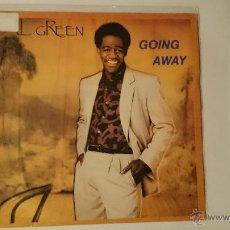 Discos de vinilo: AL GREEN - GOING AWAY / BUILDING UP (1985). Lote 53211326