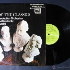 Discos de vinilo: DISCO VINILO HITS OF THE CLASSICS THE STEREO ACTION ORCHESTRA DIRECTED BY CYRIL ORNADEL 1977 DCL055. Lote 53215581