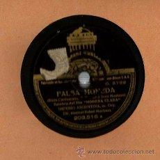 Discos de vinilo: IMPERIO ARGENTINA : MARIA DEL CARMEN + FALSA MONEDA. Lote 53216032