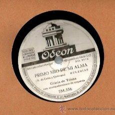 Discos de vinilo: GRACIA DE TRIANA : PRIMO MIO DE MI ALMA + NO ME QUIERAS TANTO. Lote 53216069