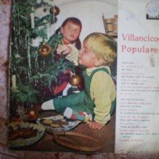 Discos de vinilo: LP. VILLANCICOS POPULARES. ORIGINAL. AÑO 1963. Lote 53217609