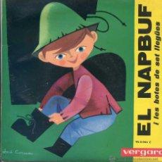 Discos de vinilo: EL NAPBUF O LES BOTES DE 7 LLEGÜES (DISCO LIBRO 1961). Lote 53221781