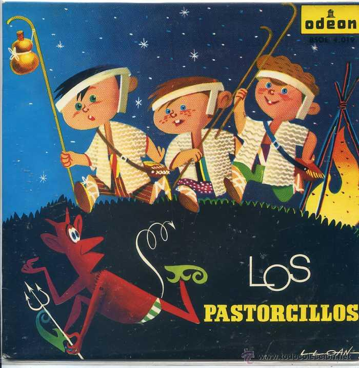 LOS PASTORCILLOS (ODEON 1959) (Música - Discos de Vinilo - EPs - Música Infantil)